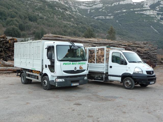 Marchand de bois de chauffage pr u00e8s de Montpellier Puech Bois Energie Achat de bois de  # Marchand De Bois De Chauffage